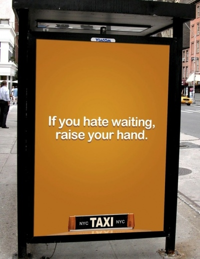 nyc taxi ad